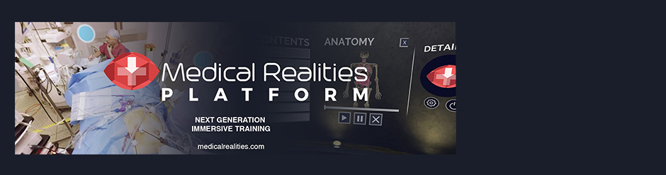 Medical Realities Platform - Next generation Immersive training